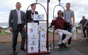 JMB remporte son poids en champagne avec Utinka Selloise dans l'étape du GNT PAris Turf de Reims